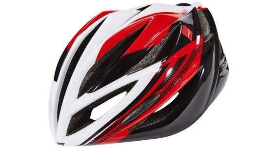 MET Forte helm rood/wit